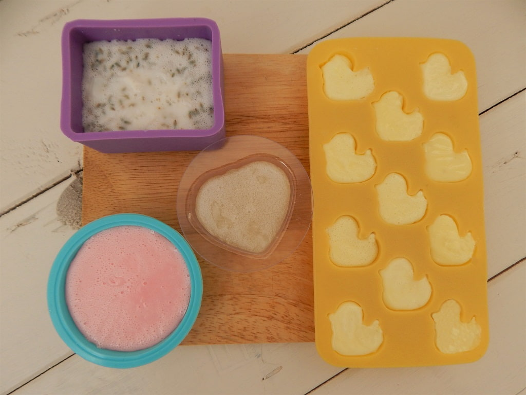 silikonová formička na výrobu mýdla