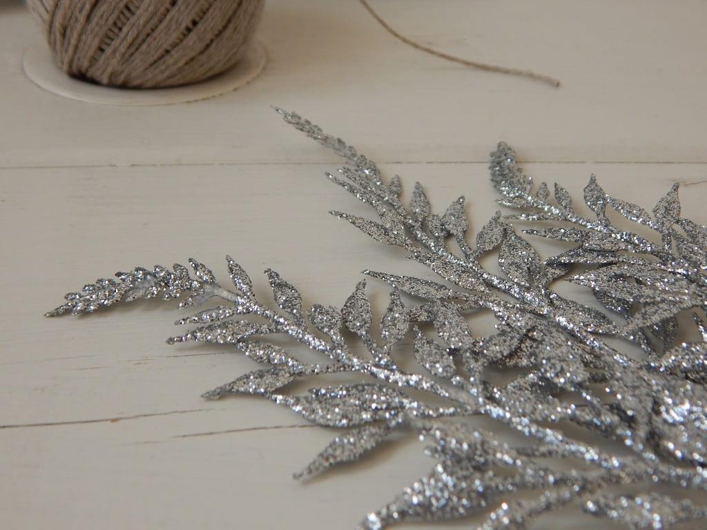 stříbrné větvičky