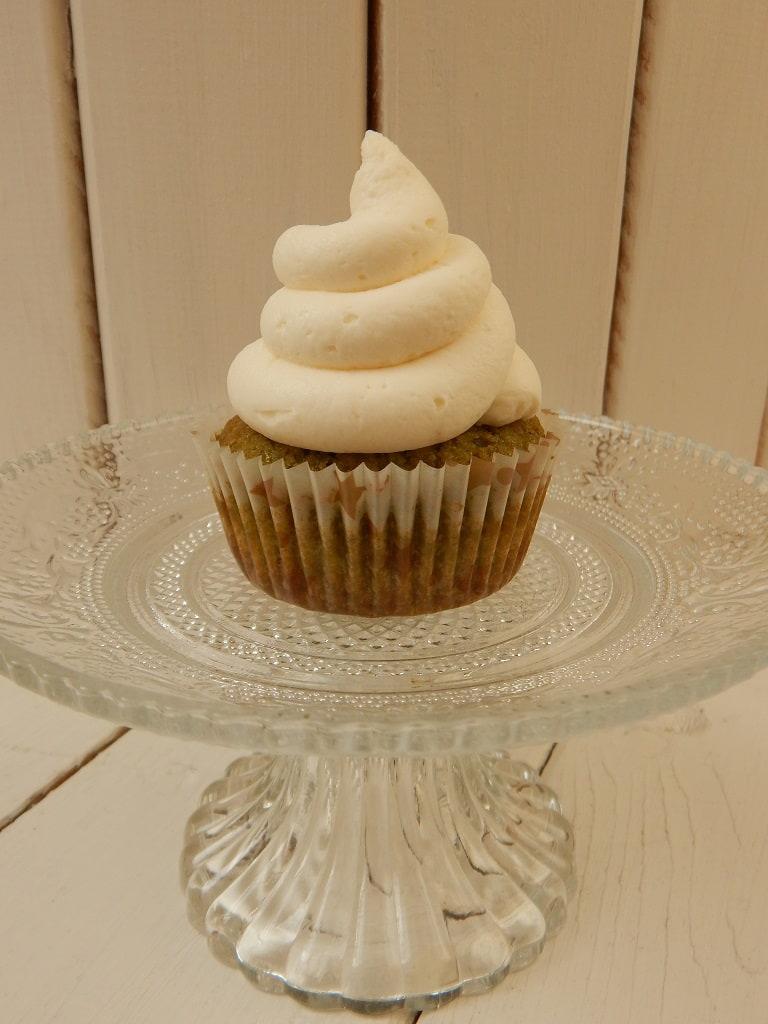 matcha cupcakes s krémem z mascarpone
