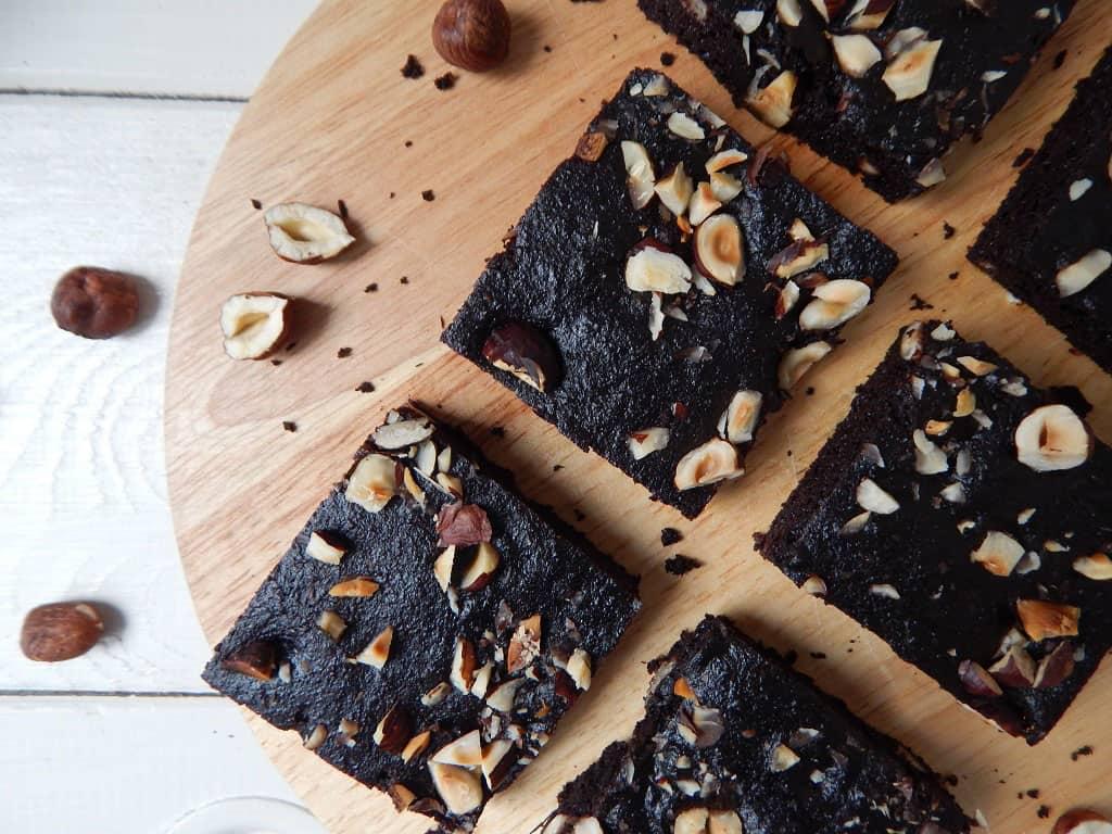 brownies z mandlové mouky