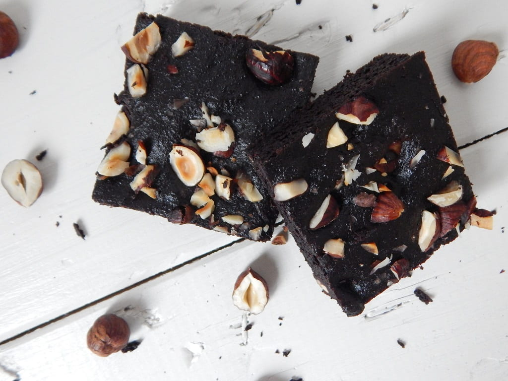 batátové brownies z mandlové mouky