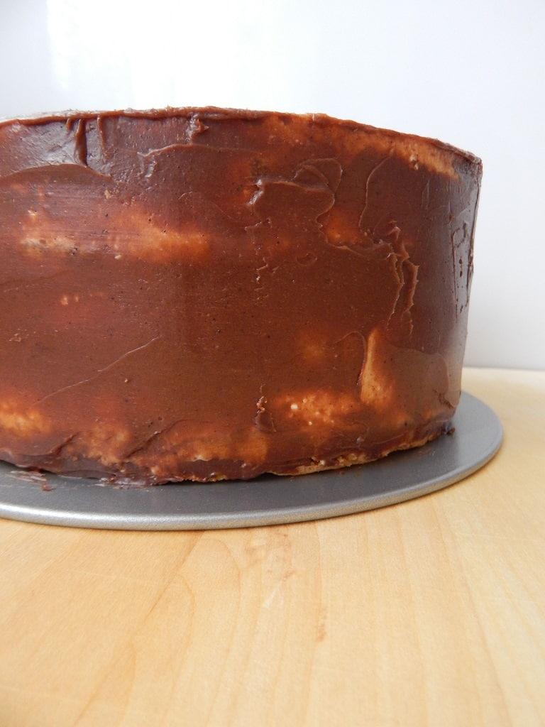obmazání dortu